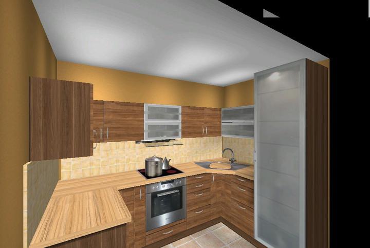 Vizualizácia kuchyne - Obrázok č. 2