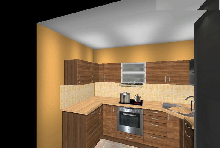 Vizualizácia kuchyne - Obrázok č. 3