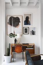 oranžový dřevo, kůže, kytky, fotky, lampička (díky @mony2 za vypůjčení tužebných fotek)
