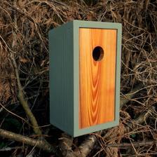 tohle je víc můj vkus, moderní obydlí pro ptáky.