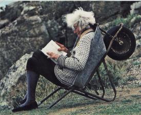 A takhle bych na zahradě chtěla trávit stáří ...
