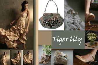 stylizace k satum tiger lily