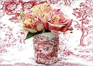 v růžové a na porcelánu