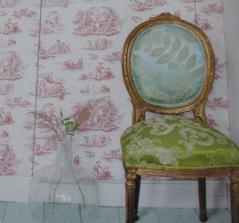 tiutlní strana jednoho časopisu z NL ... super barevná kombinace, skvělě zrestaurovaná židle :)