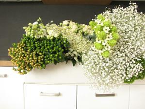 nákup květin a pak cca 8 hodin práce ve dvou s mojí milou zahradnickou kamarádkou :)