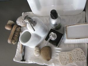 textury a monochrom v kuchyni ... :)