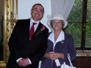 táta s babičkou