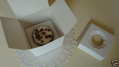 Inside Cupcake box