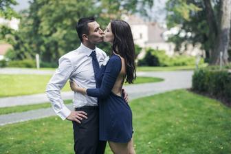 Půl roku po svatbě zase na svatbě (ženichova svědka) :-)