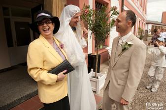 Tak,  pane ženichu - tady máte nevěstu!