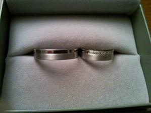 Naše krásné jednoduché prstýnky...