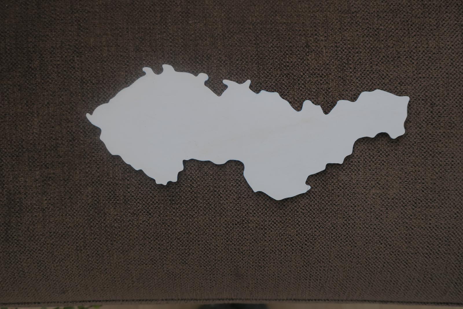 Mapa Československo - Obrázok č. 1