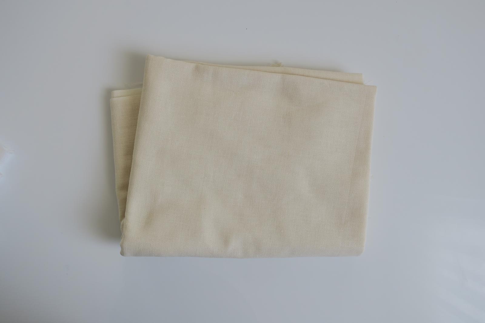 Krémová látka - Obrázok č. 1