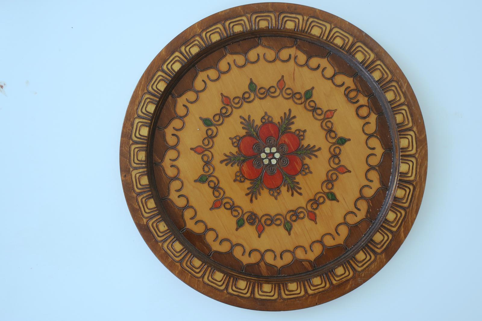 Drevený tanier - Obrázok č. 1
