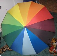 farebny dážnik - je na predaj ( viac v mojom albumčeku )