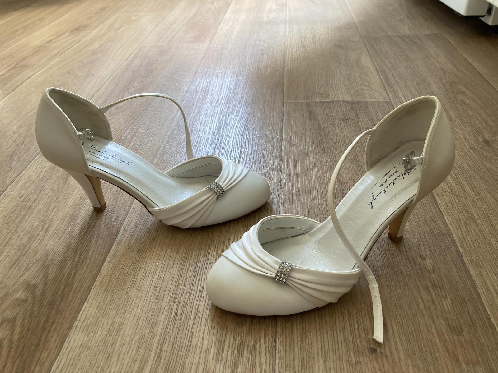 svadobné topánky veľkosť 37 - Obrázok č. 1