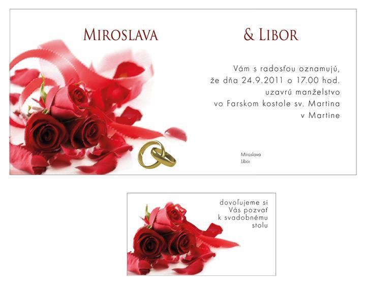 Pozvánky - samovýroba - navrh od grafika