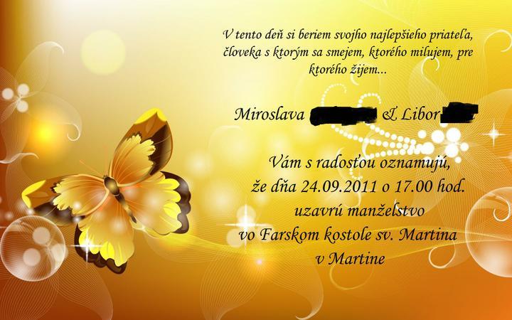 Pozvánky - samovýroba - moja tvorba 3