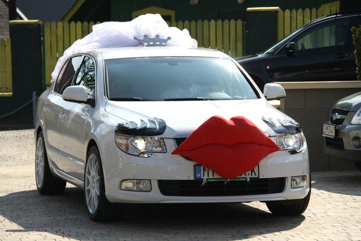 M{{_AND_}}P - Moje svadobné auto. Vlastná tvorba :D