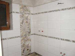 Koupelnička už se pomalu rýsuje :-)