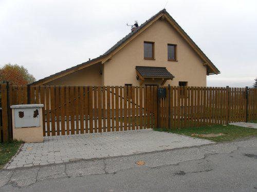 """Kallovci staví domeček - naše """"Barunka"""" již postavená, omlouvám se, že jsem si vypůjčila foto"""