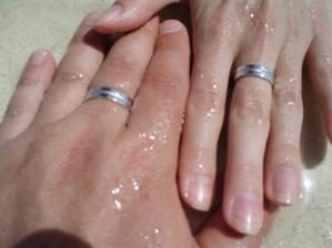 týždeň po svadbe sme sa už máčali v mori :)