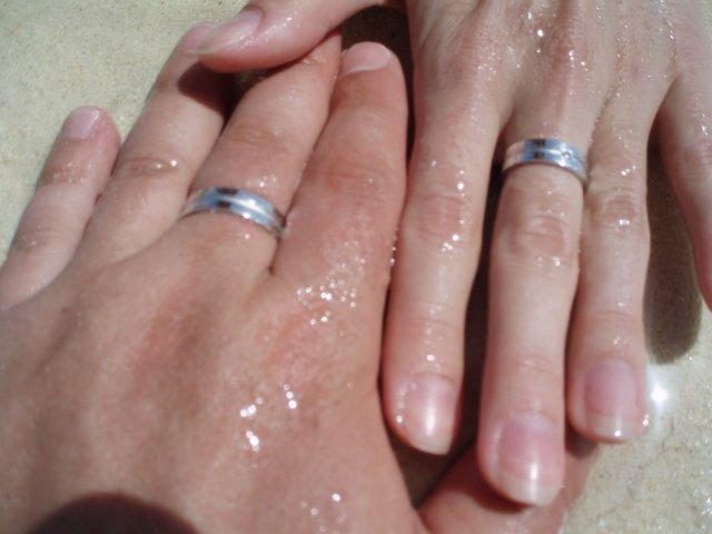 Lucia{{_AND_}}Pavel - týždeň po svadbe sme sa už máčali v mori :)
