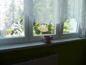 Nová dekorace do okna - milované žabičky :)