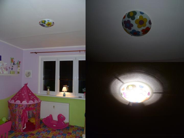 Dětský pokojík pro naší Karolínku :o) - A už svítí :-)