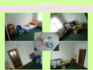 původní vzhled místnosti... září 2011