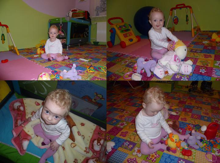 Dětský pokojík pro naší Karolínku :o) - ...a v praxi :)