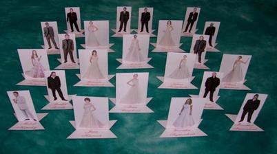Jak jsem slíbil, tak plním ... Dalších několik jmenovek na svatební tabuli ...