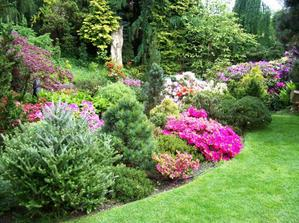 Meditační zahrada - prostě pohádka ... další fotografie ani nebudu popisovat ...