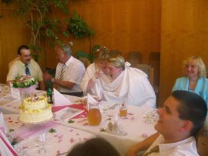Na svatební hostině