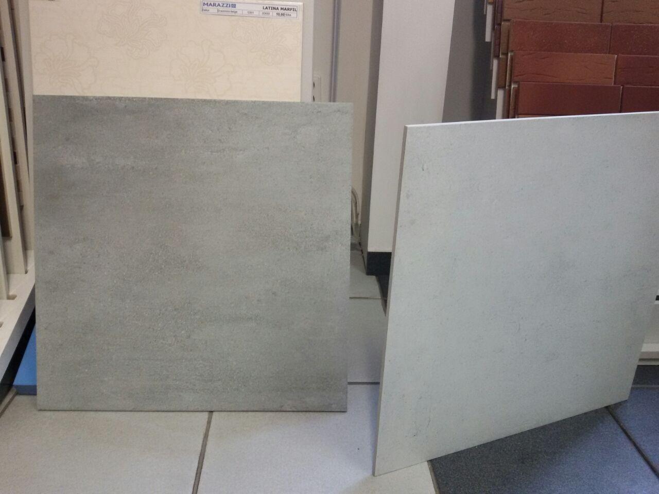 InTeRiEr -  ExTeRiEr - Dlazba do kupelne a WC - RAKO Cemento 60x60 - ta tmava nalavo. Kombinovana bude s obkladom Rako bielou lesklou 30x60.