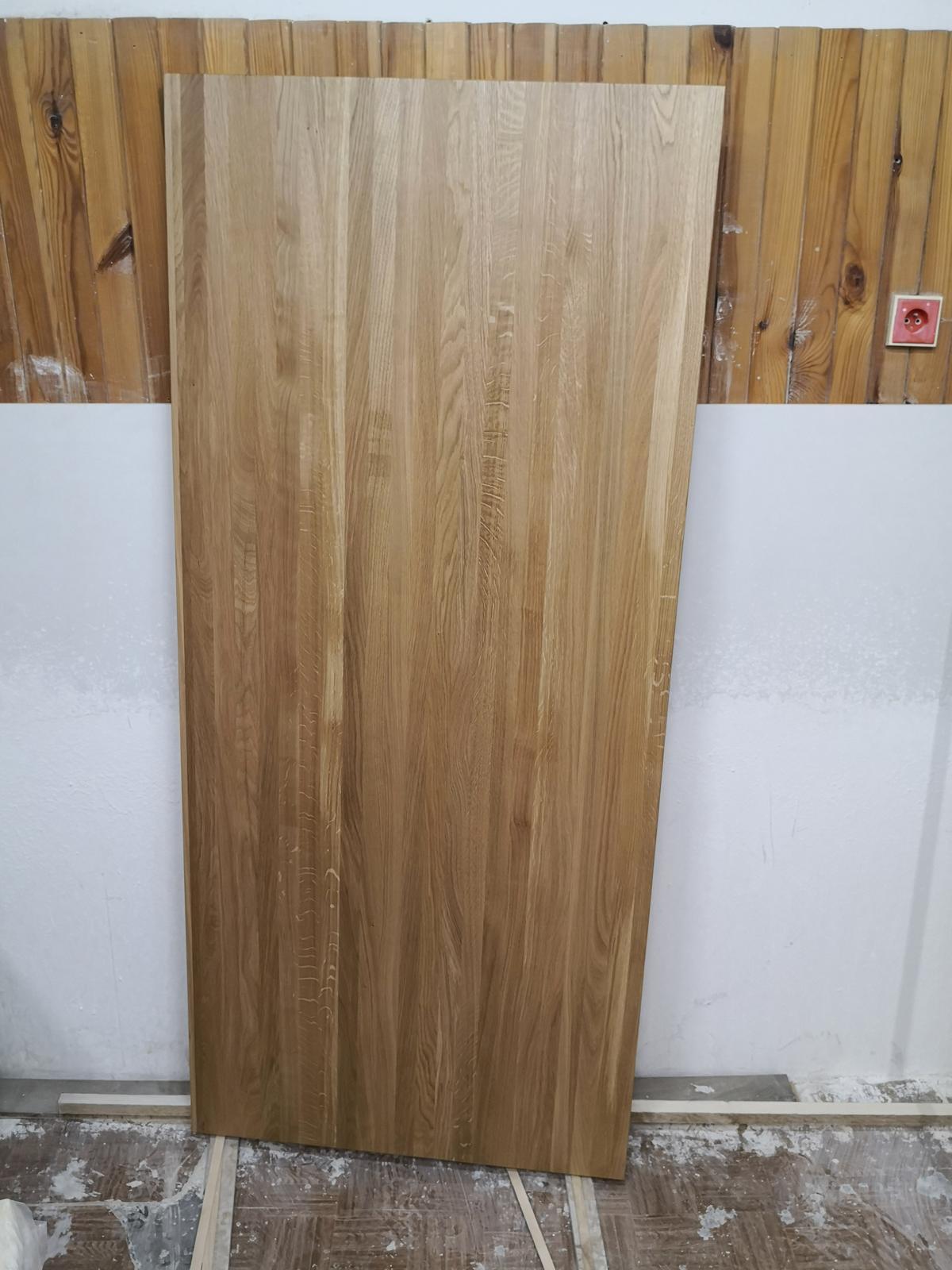 InTeRiEr -  ExTeRiEr - Dubova platna na novy stol 84x188x4cm. Povrch tvrdy vosk Osmo.