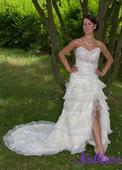 Svatební šaty Carmen č. 175 - výprodej, 38