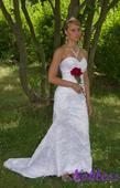 Svatební šaty Dana č. 169 - výprodej - vel. 36-38, 38