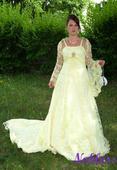 Svatební šaty Jola č. 43 - výprodej - vel. 38-40, 40