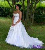 Svatební šaty Paradis č. 80 - výprodej - vel.38-40, 40