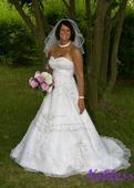 Svatební šaty Petra č. 53 - výprodej - vel. 38-40, 40