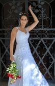 Svatební šaty Glassiera bílé - vel. 34-38, 36