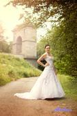 Svatební šaty Odry č. 2 - vel. 34-38, 36