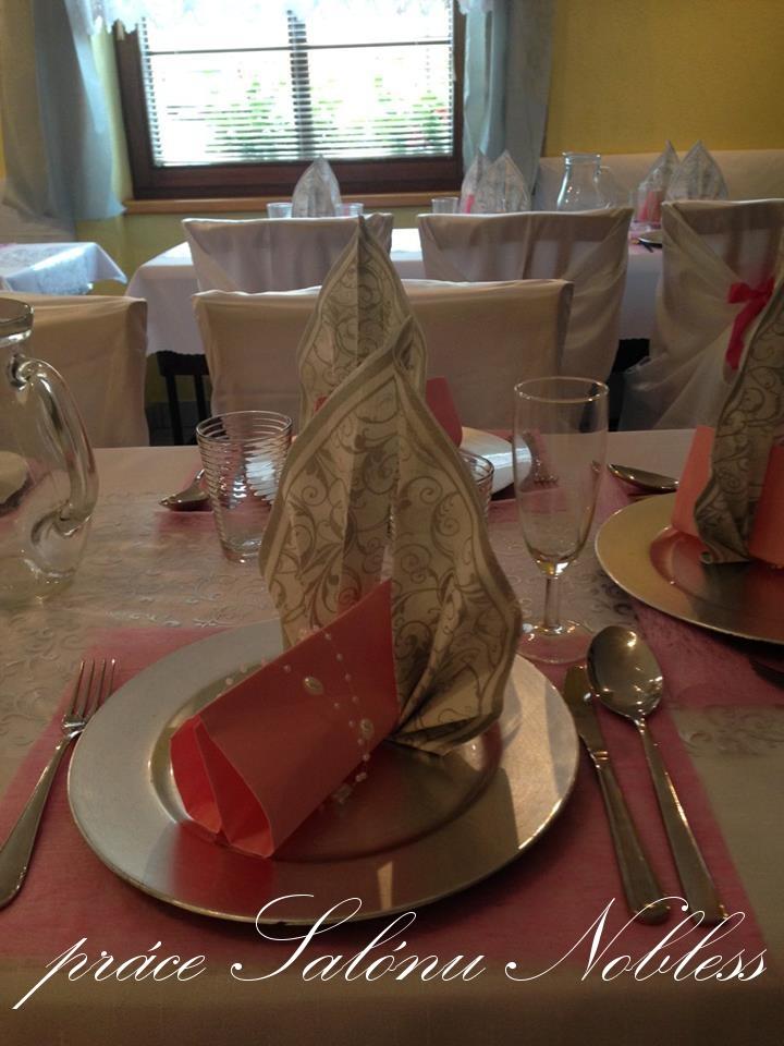 Svatební dekorace komplet pronájem růžovostříbrná  - Obrázek č. 3