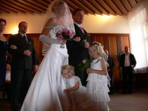 já s manželem a naše dcery
