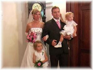 já můj manžel a naše dcery,rodinka jak má být