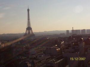 naše svatební cesta do Paříže