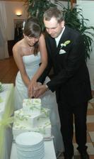 krájanie našej  torty
