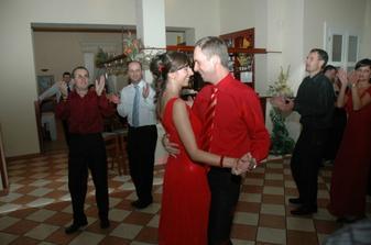 aj redový tanec