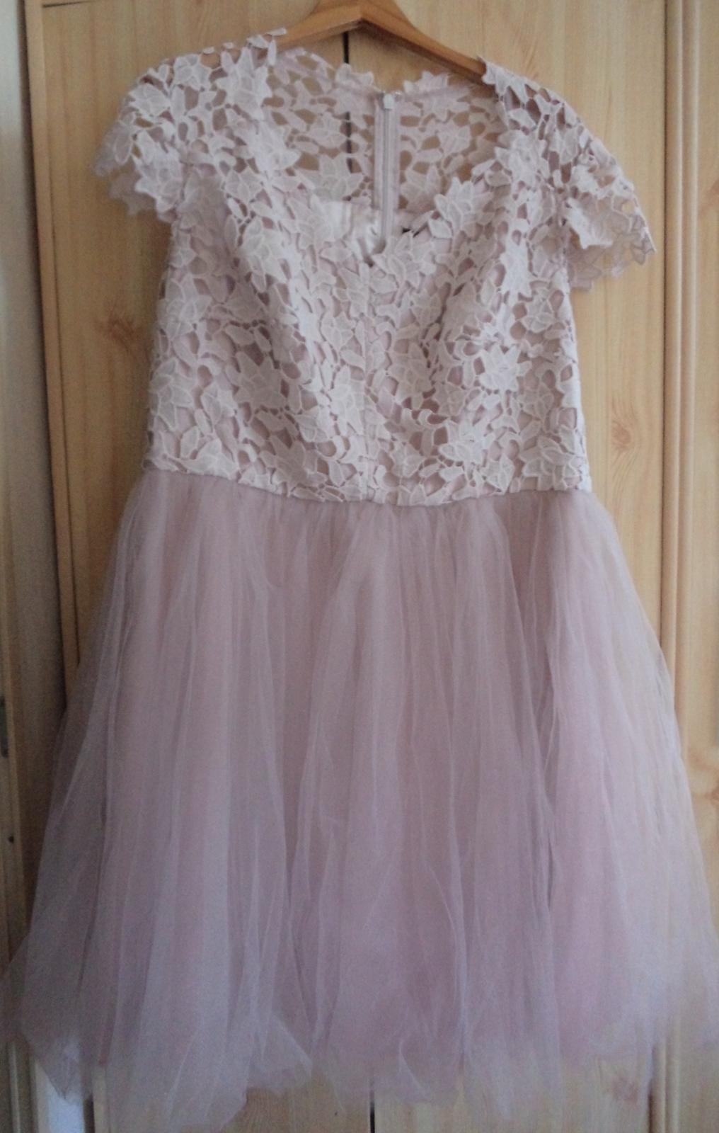 čipkovane šaty  - Obrázok č. 1